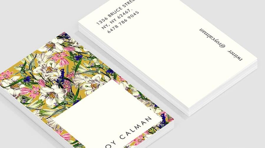 Срочная печать визиток любого тиража