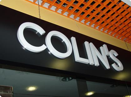 Буквы Colins